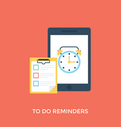 Todo reminder vector