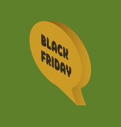 Web banner for black friday sale modern billboard vector