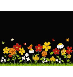Flower Meadow vector image