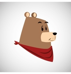 Animal cartoon design vector