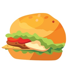 fastfood vector image