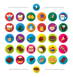 New year festivities and other web icon in vector