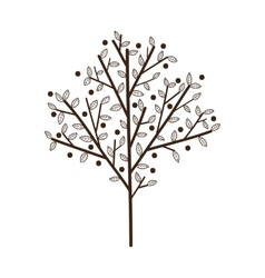 Simple tree with leaves vector