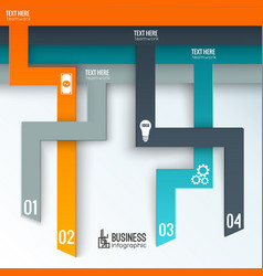 teamwork business infographics vector image