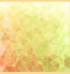 Triangular abstract background green and red vector