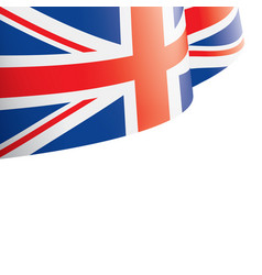 united kingdom flag on a vector image