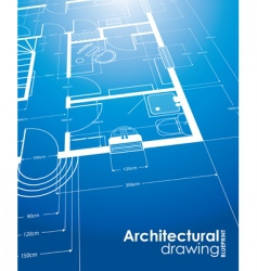 architectural drawings vector image
