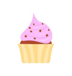 Flat icon cake vector