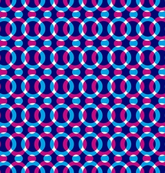 Bright dotted seamless pattern with red and blue vector image