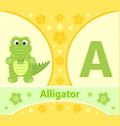 the english alphabet a vector image