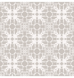 Simple elegant lace pattern with white shapes vector image