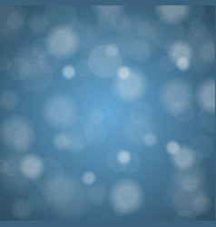 abstract blurred background of sky blue shiny vector image vector image