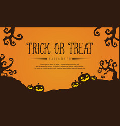 collection stock halloween with pumpkin vector image vector image