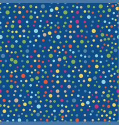 colorful bright circles seamless pattern vector image