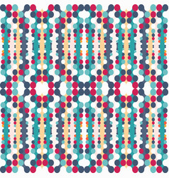 abstract geometric psychedelic seamless pattern vector image