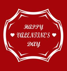 celebrate holidays valentine vector image
