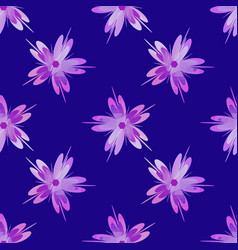 sakura flower seamless pattern design element vector image