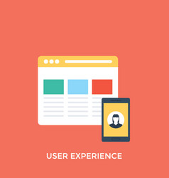 User experience vector