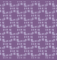 White vertical and horizontally lines on purple vector
