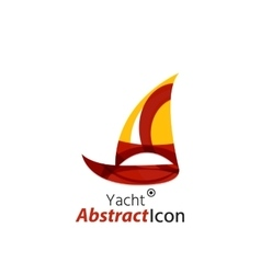 Abstract geometric business corporate emblem vector image