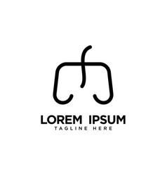 Game logo template design vector