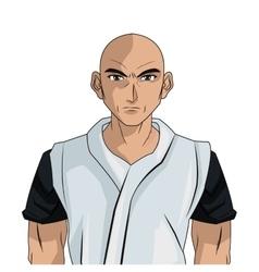 Man boy anime comic design vector