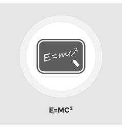 Physics flat icon vector image