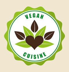 Vegan menu vector