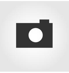 Camera web icon flat design vector image