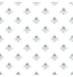 Royal bastion pattern seamless vector