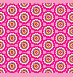 seamless pink pattern background with stylized vector image