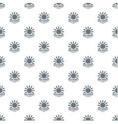 sun energy pattern seamless vector image