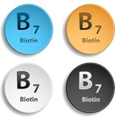 Vitamin B7 vector