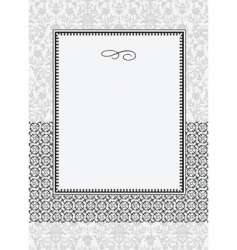 patterns and frame vector image vector image