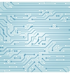 Abstract background with high tech circuit vector