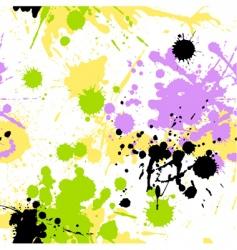 blots pattern vector image vector image