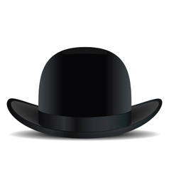 Bowler hat vector image