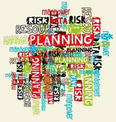 Business management background vector