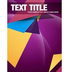Creative brochure design vector
