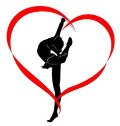 Gymnastics logo vector