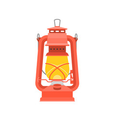 Hurricane lantern vector