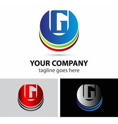 Letter G logo icon vector