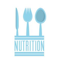 nutrition food fresh health image vector image