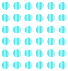 Turquoise seamless pattern vector image