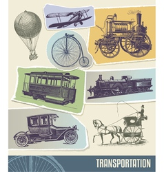 Vintage Transport vector image