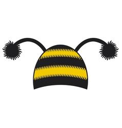 bee cap vector image