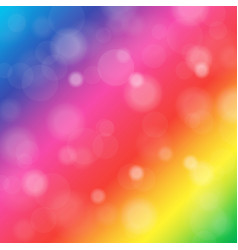 abstract blurred background of rainbow shiny vector image vector image