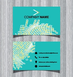 abstract business card design 2204 vector image vector image