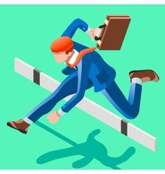 Ambitious business change 63 job ambitions concept vector