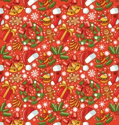 Merry Christamas background vector image